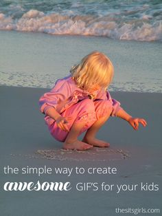 Learn how to create awesome GIF images of your kids the easy way using your smartphone camera and Google+!