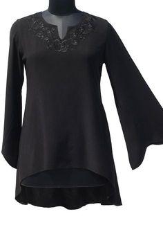 Shop Savannah Boho Tunic: http://holyclothing.com/index.php/savannah-modern-boho-tunic.html?utm_source=Pin #holyclothing #savannah #modern #embroidered #tunic #top #bohemian #gypsy #boho #renaissance #romantic #love #fashion #musthave