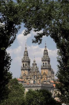 Cathedral of Santiago de Compostela, Spain [labeled one of the 12 treasures of Spain]