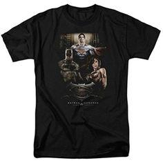 There Are Three Black T-Shirt Batman V Superman Dawn of Justice