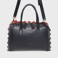ANNA GREEN leather bag