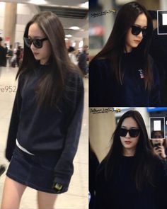 "971 Me gusta, 1 comentarios - KRYSTAL (@krystal.sment) en Instagram: "". [ Preview ] 170417 Krystal - Incheon airport arrival. © Five952 