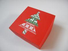 Scatola di carta per regali o dolcetti