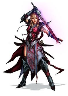StuffNThings — Fantasy character art by Yama Orce Female Character Concept, Character Sketches, Character Portraits, Character Art, Dungeons And Dragons Characters, Dnd Characters, Fantasy Characters, Female Characters, Fantasy Female Warrior