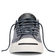 The Converse Jack Purcell Weatherized Textile Sneaker in Admiral
