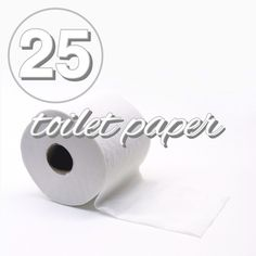 Zero waste challenge day 25! Swap out your roll for something more sustainable from www.goingzerowaste.com
