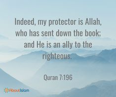 Allah is our protector.