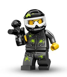 Black Friday 2014 Lego Series 10 Paintball Player Mini Figure from LEGO Cyber Monday. Black Friday specials on the season most-wanted Christmas gifts.