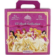 Disney Princess Enchanted Moments 12-Book Collection