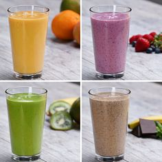 Silken Smooth Protein Fruit Smoothies