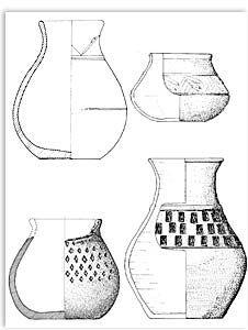 Langobard cup shapes
