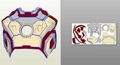 660 x 360 ( Iron Man Helmet, Iron Man Suit, Iron Man Armor, Cosplay Armor, Cosplay Diy, Batman Mask Template, Iron Heart Marvel, Pepakura Iron Man, How To Make Iron