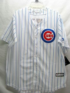 36bb206dc69 Chicago Cubs Anthony Rizzo Home White Jersey Majestic Coolbase Mens Size XL  48