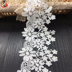 Lace Trim, Applique, Decor, White Lace, Twine, African, Sheer Curtains, Decoration, Decorating