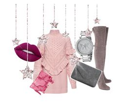 """""""#winter#outfit#2"""" by efsi on Polyvore featuring Mother of Pearl, Stuart Weitzman, Style & Co., Michael Kors and Maybelline"""