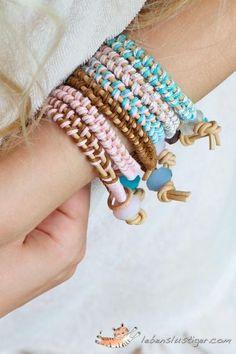 DIY Leather Bracelet DIY Jewelry DIY Bracelets