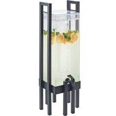 9W x 9D x 28.5H 3 Gallon Acrylic Beverage Dispenser Infusion Chamber Black Frame Tags: One by One Collection; Beverage Dispensers; One by One Collection; Acrylic Beverage Dispensers;Acrylic Black Beverage Dispensers;One by One Collection Beverage Dispensers; https://www.ktsupply.com/products/32801336014/9W-x-9D-x-285H-3-Gallon-Acrylic-Beverage-Dispenser-Infusion-Chamber-Black-Frame.html
