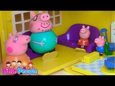 Игра Свинка Пеппа у ЛОР-врача