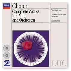"""De álbum """"Chopin: Piano Concertos Nos.1 & 2 etc"""" del Claudio Arrau en Napster"""