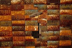 -License Plates, Kentucky ---------Life in Color: Brown, Brown Pictures -- National Geographic