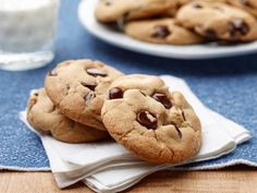 Get Food Network Kitchen's Simple Chocolate Chip Cookies Recipe from Food Network