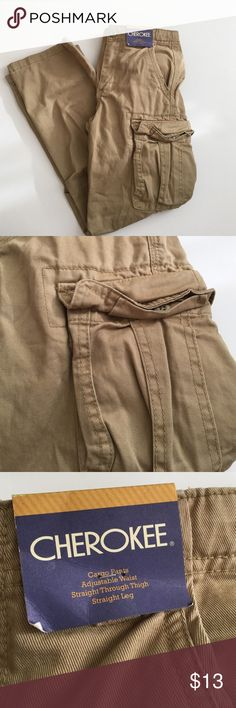 NWT boys cargos ✨EUC  ✨measurements upon request  ✨no trades  ✨make me an offer I can not refuse  ✨if you have any other questions let me know   Always thank you for shopping and don't forget to save 20% by bundling Cherokee Bottoms Casual