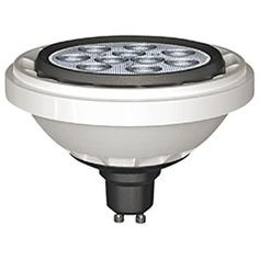 Produktabbildung 13-W-GU10-LED-Strahler, AR111, warmweiß, dimmbar