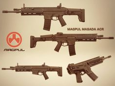 MAGPUL MASADA ACR now by Remington/Bushmaster