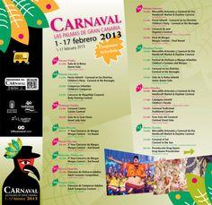 Fechas Carnavales Canarias 2013   Canarias Free
