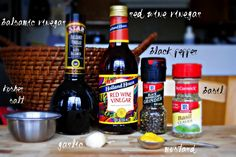 Simply Scratch » House Balsamic Vinaigrette