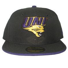 New Era flat bill hat with UNI purple gold logo.  29.99 cd96bbcf5d05