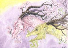 Spirits of Spring by LarimarDragon on DeviantArt
