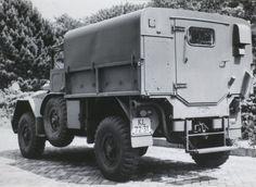 DAF YA 126, 1 ton, 4x4, met gesloten opbouw