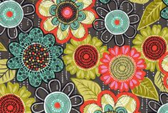 My FAVORITE print! 😍 Flower Shower: Large banana leaves and climbing vines collide with large florals - predominantly in brown, turquoise and coral - spread across the print in sepia tones. Colour Pallete, Color Palettes, Vera Bradley Patterns, Climbing Vines, Flower Shower, Vera Bradley Purses, Fabric Paper, Pattern Wallpaper, Cute Wallpapers