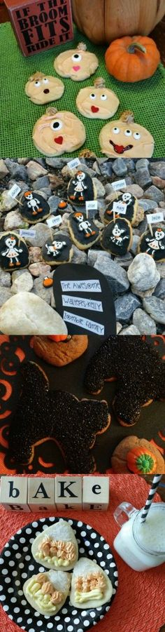 Halloween Fun Decorating Sugar Cookies