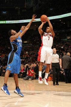 Kyle Lowry had 33 points and 11 assists in the Toronto Raptors' win over the Orlando Magic. Toronto Raptors, Slam Magazine, Kyle Lowry, Sports Page, Orlando Magic, Sports Basketball, Nba Players, Espn, Nba 2013