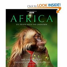 Africa Hardcover Book David Attenborough