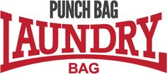 Punch Bag Laundry Bag... Who doesn't want to beat the hell out of their laundry...
