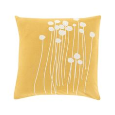 Artistic Weavers Alyssa Yellow Geometric Polyester 20 in. x 20 in. Throw Pillow - The Home Depot : Artistic Weavers Alyssa Poly Euro Pillow, Yellow Modern Throw Pillows, Floral Throw Pillows, Toss Pillows, Throw Pillow Covers, Accent Pillows, Decor Pillows, Yellow Pillows, Yellow Bedding, White Cushions