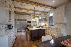 """This Old New House"" - tropical - kitchen - miami - by Mackle Construction"
