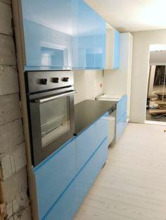 Nå begynner det å se ut som et kjøkken – Mitt Lille Prosjekt