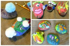 Make It Pretty Wednesdays: Painted Rock Pets! - Sippy Cup Mom