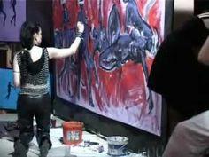 """Inferno"" - video performance by Altea Leszczynska"