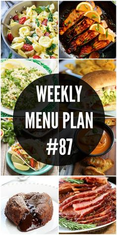 An all new delicious weekly menu plan to help you plan out your week! We have gotten together with some of our favorite food bloggers to bring you this custom weekly menu plan. We will all be sharing some of our favorite recipe ideas for you to use as you are planning out your meals...Read More »