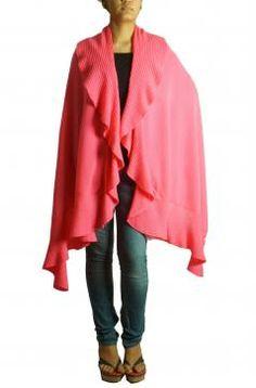 Buy Online Soothing pink shrug jacket by Todi - 2014