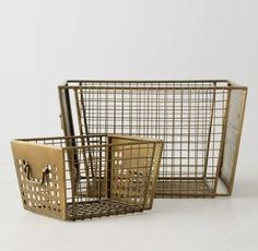 Perforated Metal Storage Collection | RH TEEN