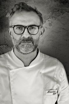 Massimo Bottura...great episode on Chef's Table on him and his restaurant.
