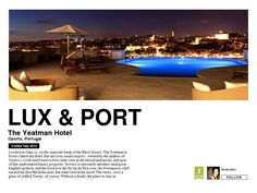 Lux & Port, Review by Ana Silva O'Reilly