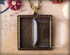 Pendant Tray Package  10 Vintage Cabochon by SunAndMoonCraftKits, $14.50
