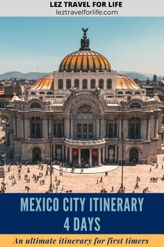 Mexico City 4 Day Itinerary: An Ultimate Itinerary for First Timers | Mexico City is huge! Looking for what to do in Mexico City? We have picked what we think are the best things to do and put them into a 4 day itinerary just for you. Check out this complete travel guide to get all the travel tips and ideas you will need. #mexicocity #mexico #travelmexico #travelmexicocity #cdmx #travelguide #mexicocityitinerary Visiting Mexico City, Visit Mexico, Canada Travel, Travel Usa, Merida Mexico, South America Travel, North America, Israel Travel, World Cities